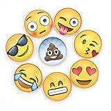 Zicome Emoji Fridge Magnets set of 8