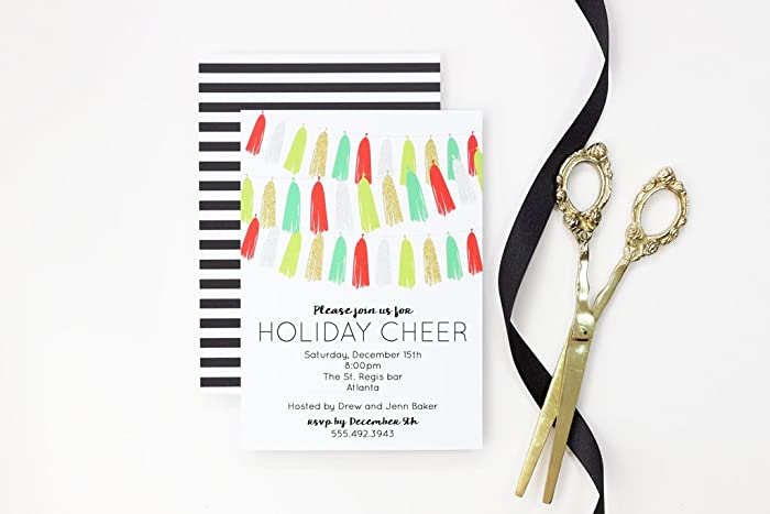 amazon com christmas party invitation holiday party invite office