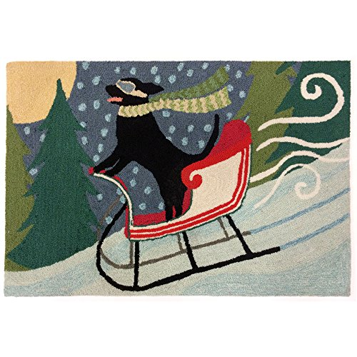 - Liora Manne FT023A54644 Whimsy Carriage Ride Rug, Indoor/Outdoor, Scatter Size, Multicolored