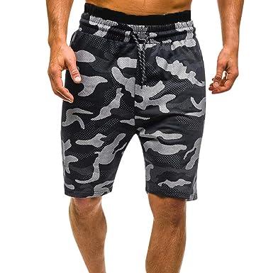 Pantalones Cortos de Camuflaje para Hombres Pantalones Cortos de ...