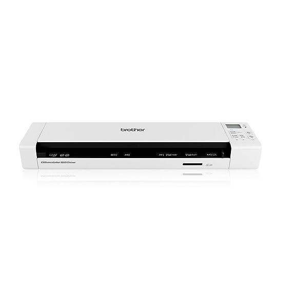Brother DS720D - Escáner portátil a Doble Cara de Documentos A4 a ...