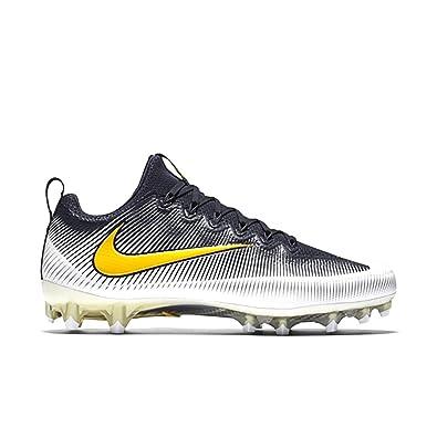 NIKE Vapor Untouchable Football Cleats Shoes Mens Size 12.5 (Navy Blue,  White, University