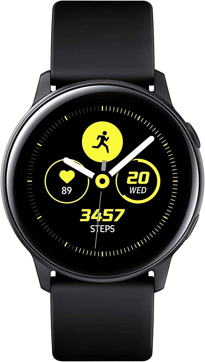 Samsung Galaxy Watch Active Reloj Inteligente Negro SAMOLED 2,79 cm (1.1