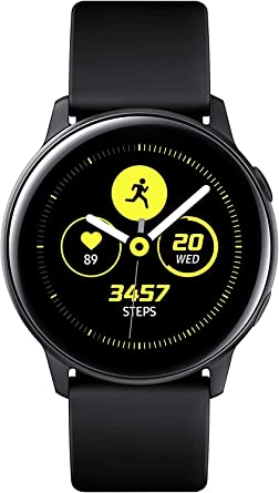 Samsung Galaxy Watch Active Reloj Inteligente Negro SAMOLED 2,79 ...