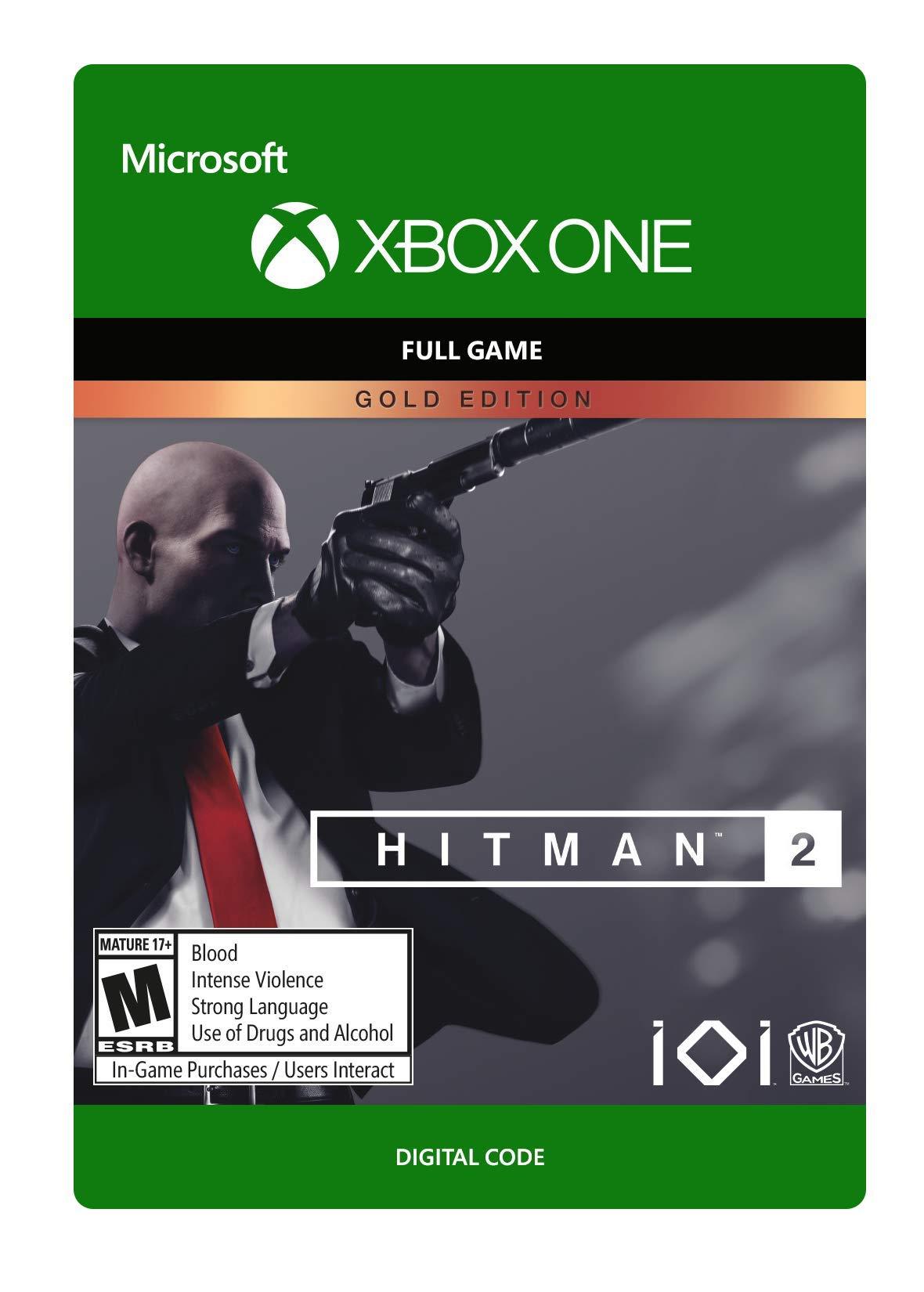Hitman 2: Gold Edition - Xbox One [Digital Code]
