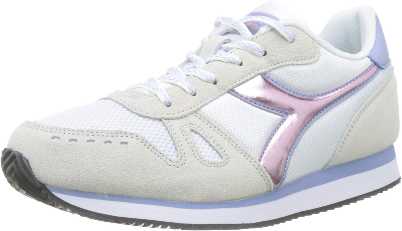Diadora Simple Run Wn, Zapatillas de Gimnasia Niñas