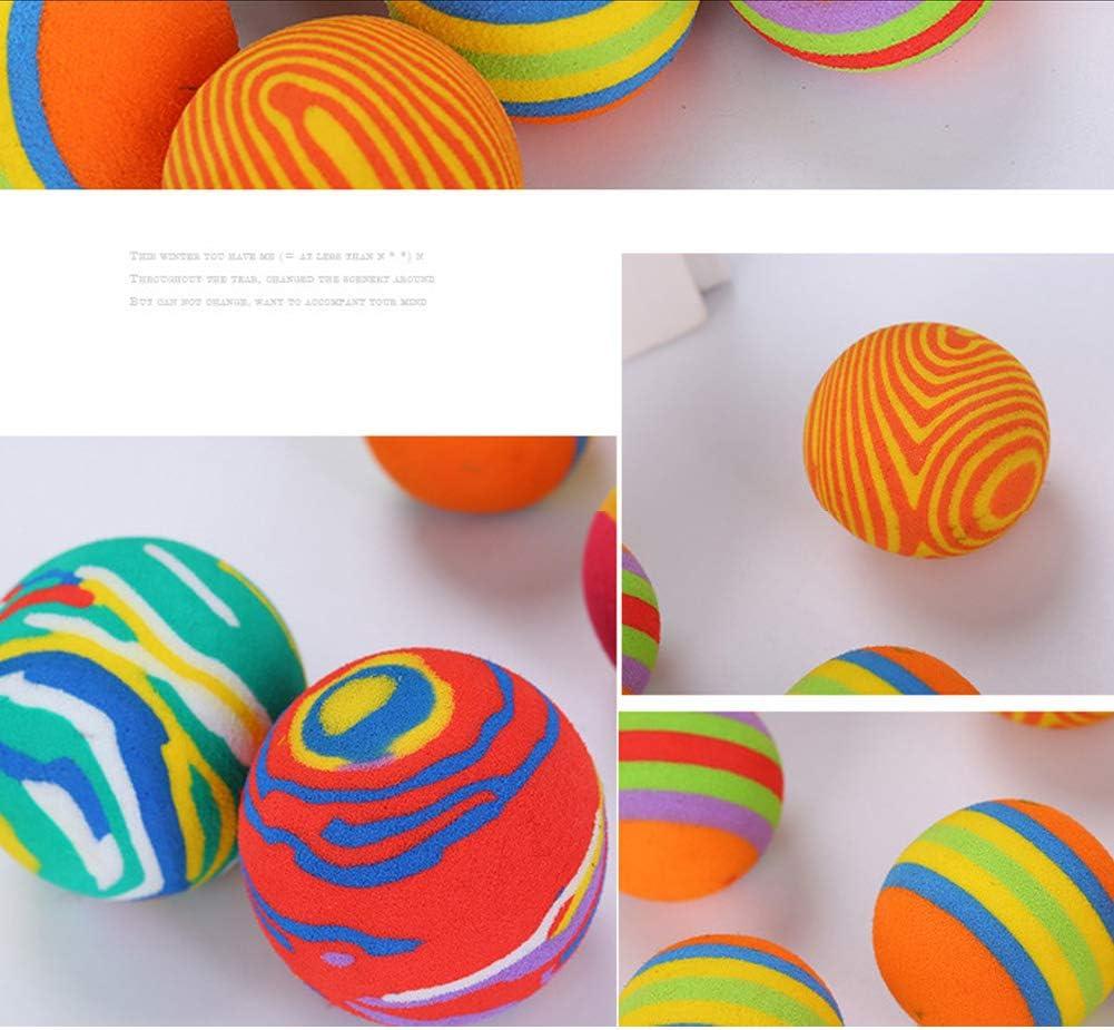 hilai 5 pcs aleatorio en Vrac coloré gato juguetes bolas suave EVA ...