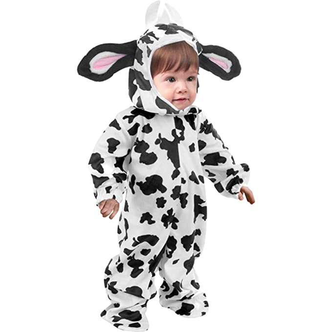 sc 1 st  Amazon.com & Amazon.com: Toddler Heirloom Cow Costume Size Toddler 2T-4T: Clothing