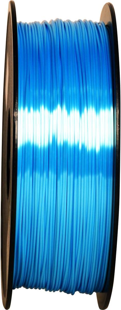 impresora 3D filamento PLA 1 kg Spool/… GIANTARM Filamento PLA 1,75 mm Silk azul cielo