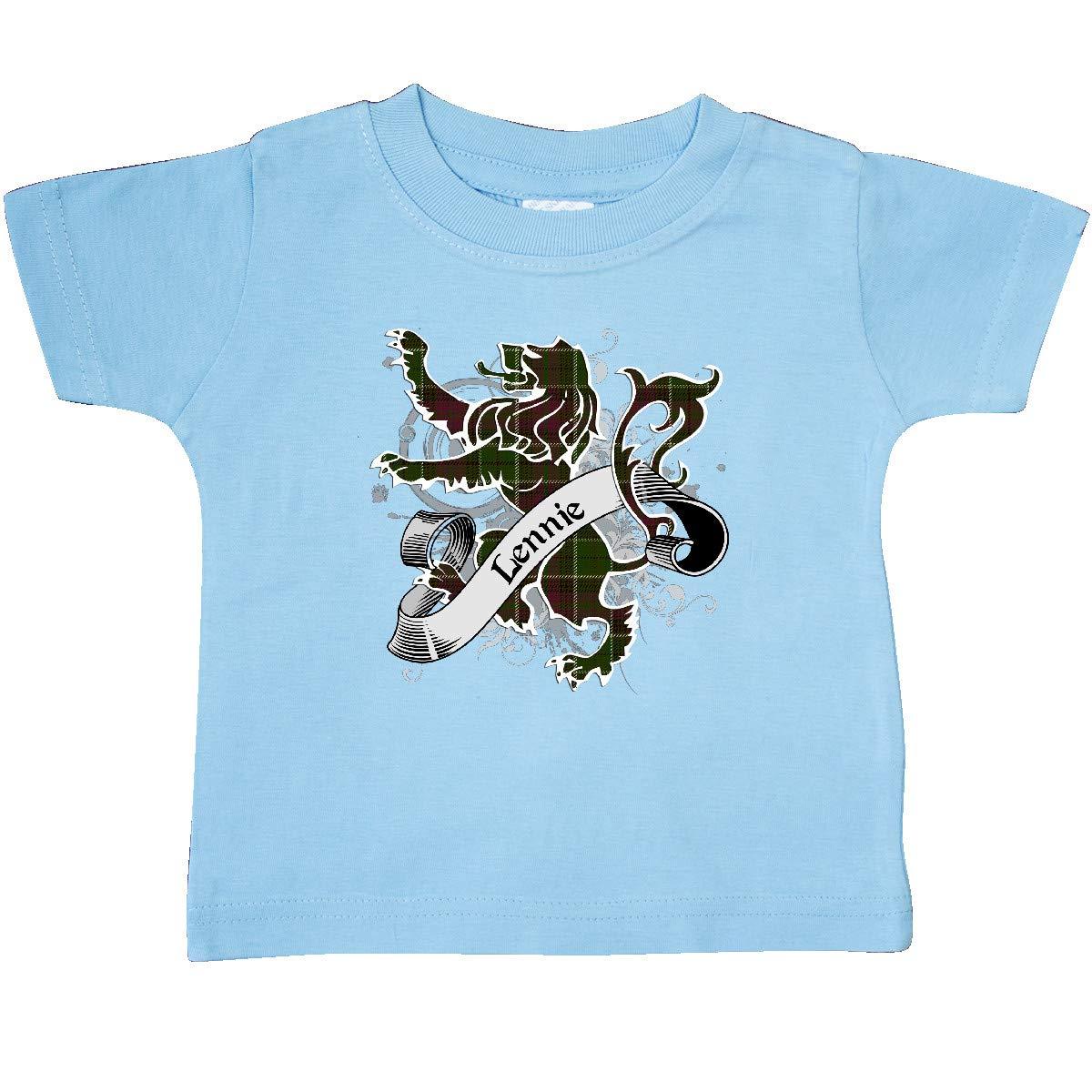 inktastic Lennie Tartan Lion Baby T-Shirt