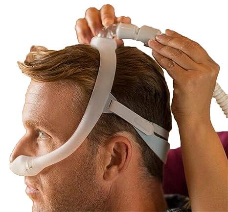Sueño Ronquido Máscara Respiración Apnea del Sueño Ronquido Equipos Purificador De Aire Accesorios: Amazon.es: Hogar