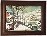 Design Toscano The Hunters in the Snow, 1565, Canvas Replica Painting: Large