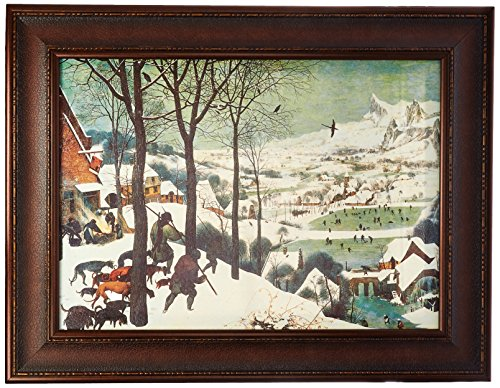 Design Toscano The Hunters in the Snow, 1565, Canvas Replica Painting: Large by Design Toscano