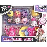 Divertido set kit de Cocina de Juguete para niñas. Incluye un juego completo de Te con 6 increíbles cupcakes y accesorios.