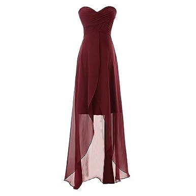bdb2c207c9b Frozac High Low Bridesmaid Dress Turquoise Bridemaid Dresses New ...