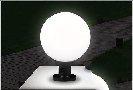 Fj 5 W 6500 K 350lm Led Outdoor Wasserdicht Solar Licht Säule Lampe