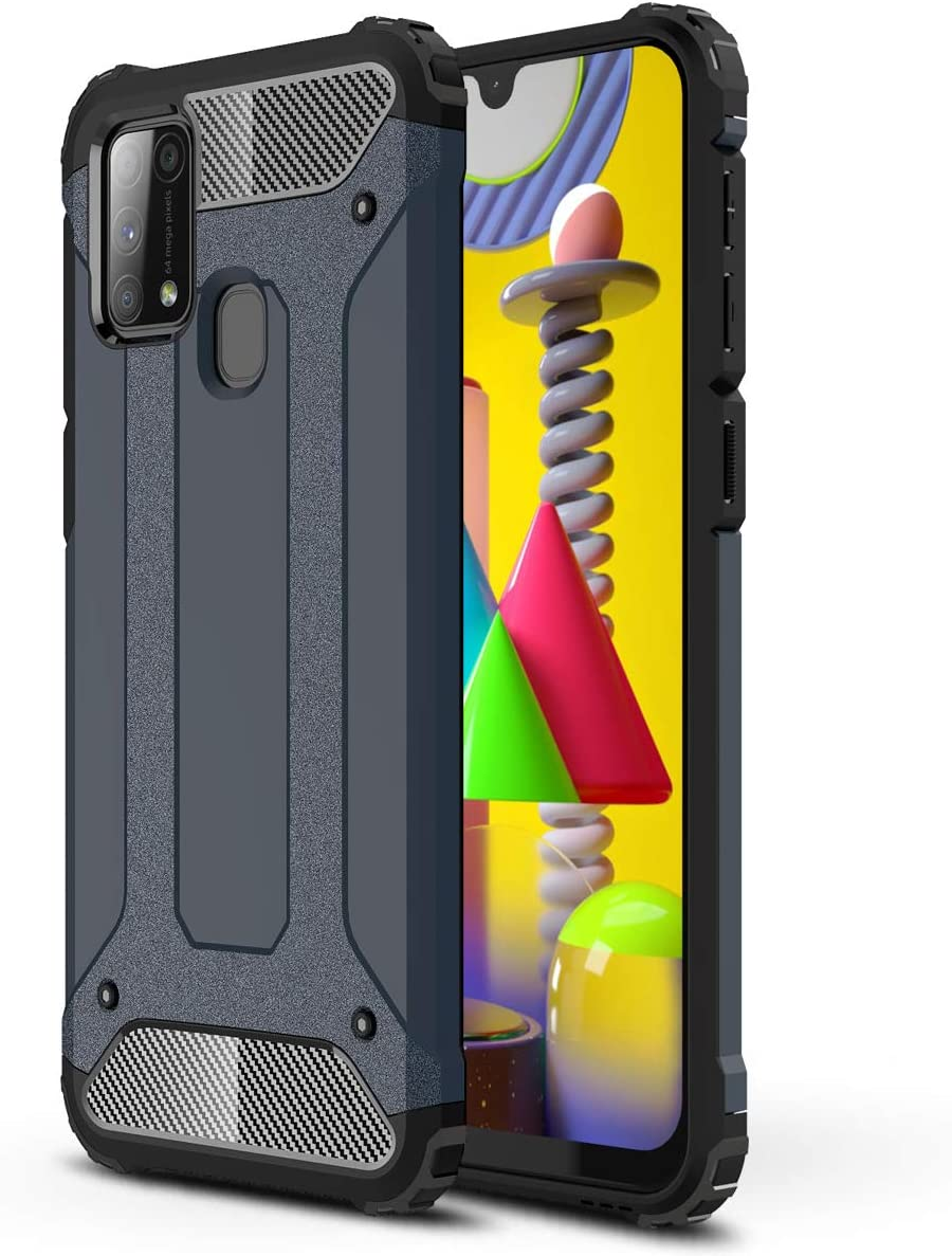 JAWSEU Silikon H/ülle f/ür Samsung Galaxy A41 H/ülle Nacht Leuchtende Schutzh/ülle,Blau Mandala Muster TPU Silikon Handyh/ülle Ultra D/ünn TPU Bumper Case Sto/ßfest Soft H/ülle f/ür Galaxy A41