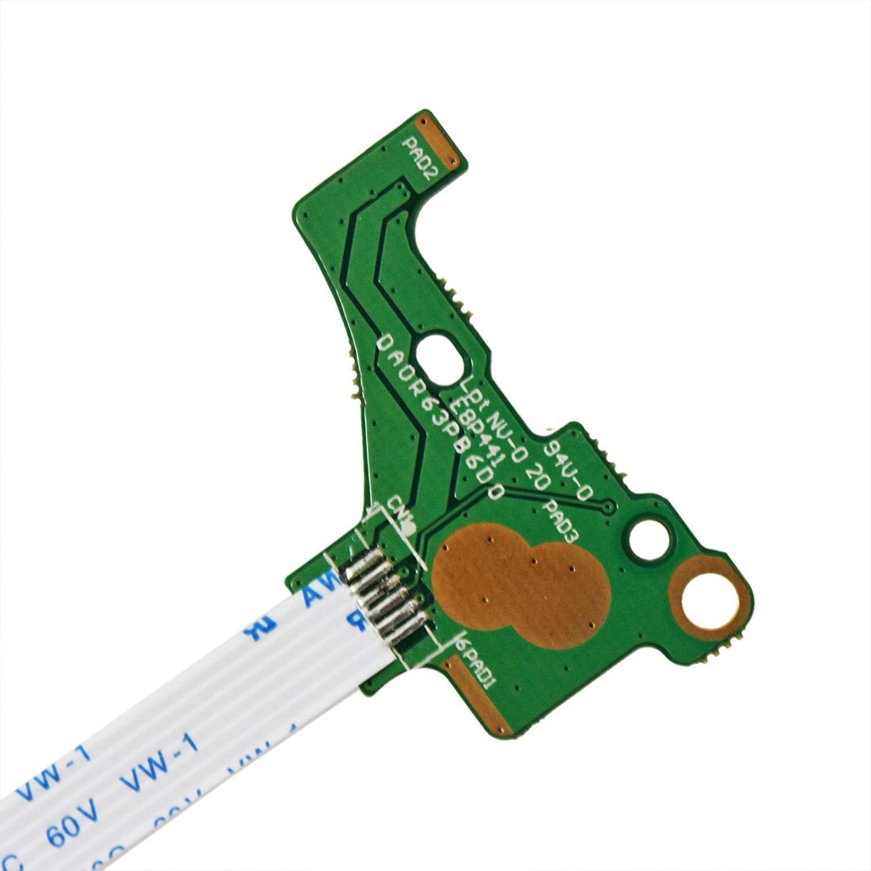 Gintai DC Power Button Switch Board Replacement For HP 15-e073ea 15-e078sa 15-e078ea 15-e082sg