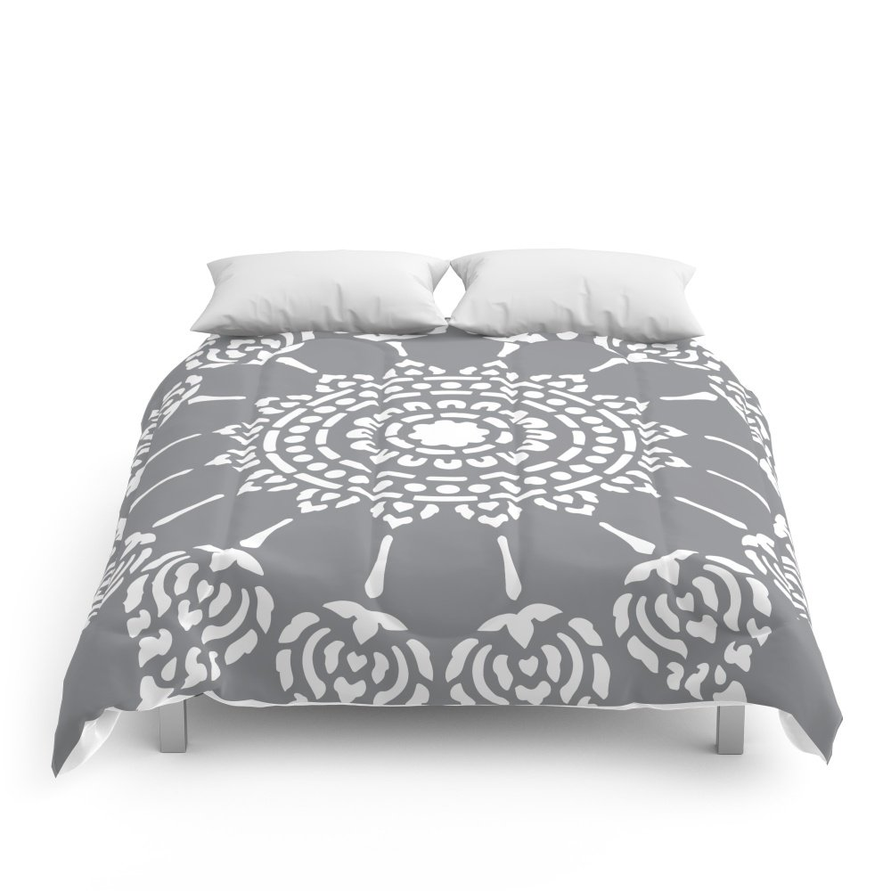 Society6 Thai Mandala Comforters Full: 79'' x 79'' by Society6