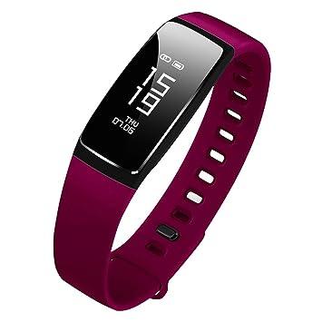 a3478f4744 Amazon | 最新版 スマートウォッチ 心拍計 血圧計 スマートブレスレット ...