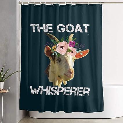 Amazon Arsmt The Goat Whisperer Custom Shower Curtain With