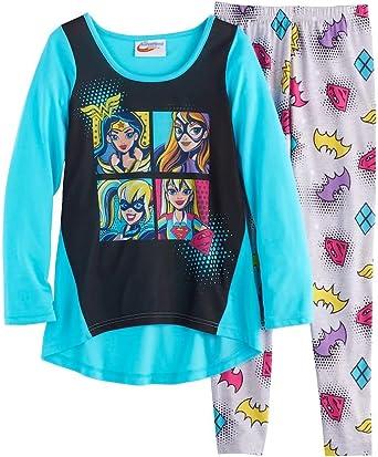 Girls DC Super Hero Pyjamas Harley Quinn Supergirl Batgirl