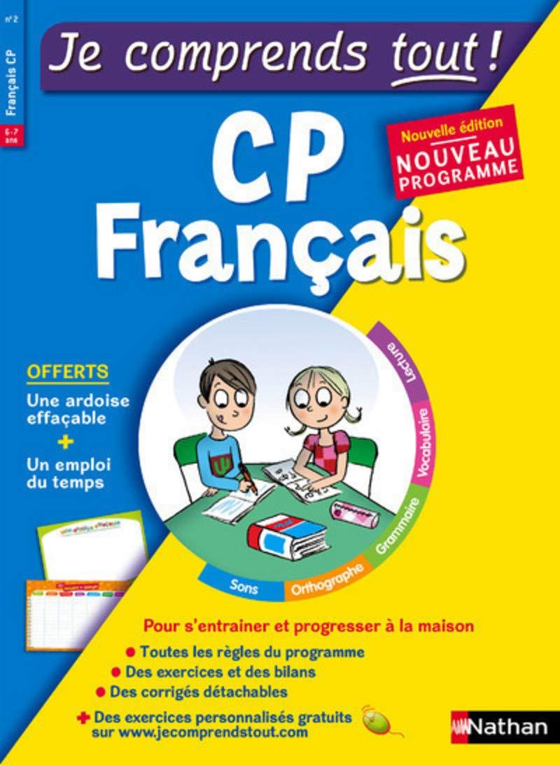 Amazon Fr Francais Cp Je Comprends Tout 250 Exercices Cours Conforme Au Programme De Cp Petit Jean Isabelle Livres
