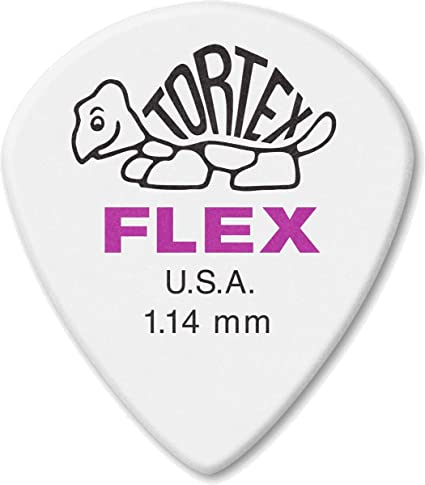 Dunlop Guitar Picks  12 Pack  Tortex White   Jazz III Size  1.14mm  478P1.14