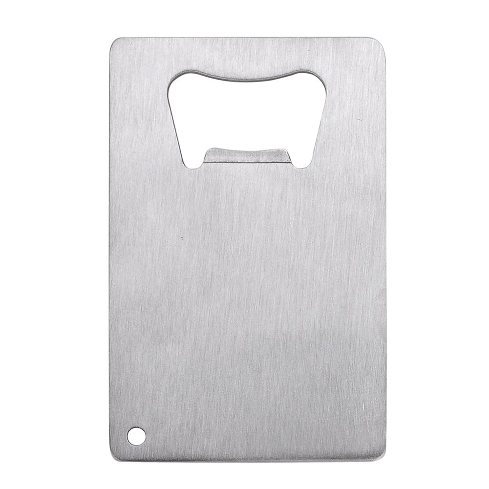Aspire 120 PCS Beer Bottle Openers Stainless Steel Credit Card Size Cap Opener for Your Wallet by Aspire