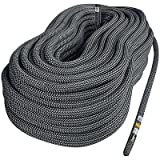 Singing Rock R44 NFPA Static Rope (10.5-mm x 300-Feet, Black)