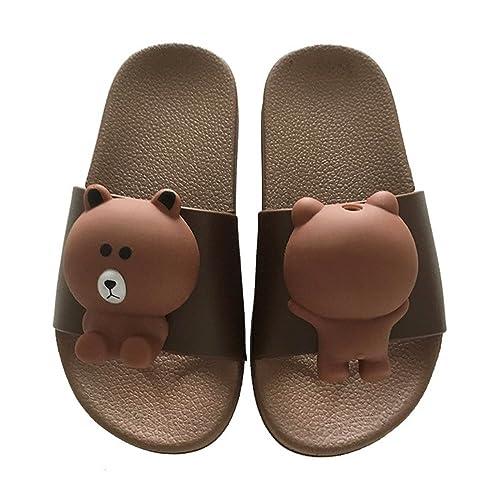 89fee8678 Toddler Boy Girl Summer Sandals Non-Slip Little Kids Sport Slide Lightweight  Beach Water Clogs