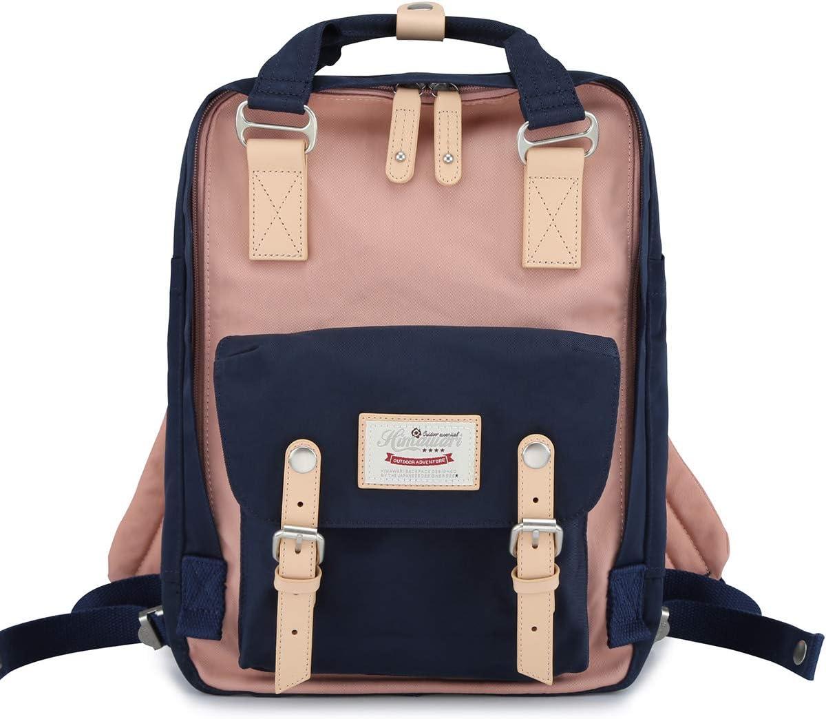 "Himawari Backpack Laptop Backpack College Backpack School Bag 14.9"" Travel Backpack for Women,Fits 13-inch Laptop(HM-54#)"