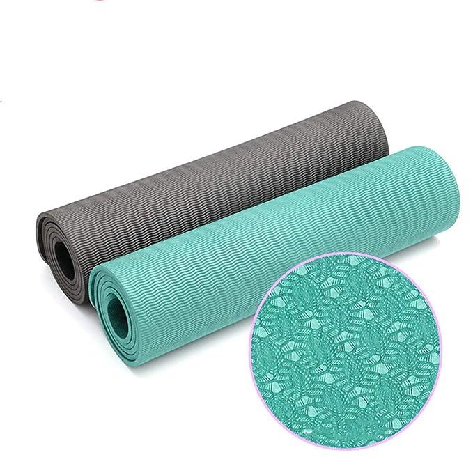 Profesional Antiscivolo Inodore Verde Stuoia Yoga Fitness ...