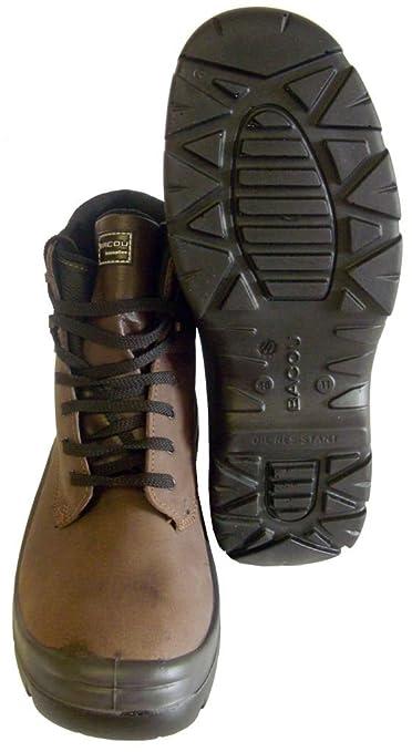 Honeywell Bac run 783 - Botas de seguridad puntera de composite ligero hombres zapato de trabajo S3 SRC Bacou, 5, marrón, 1: Amazon.es: Industria, ...