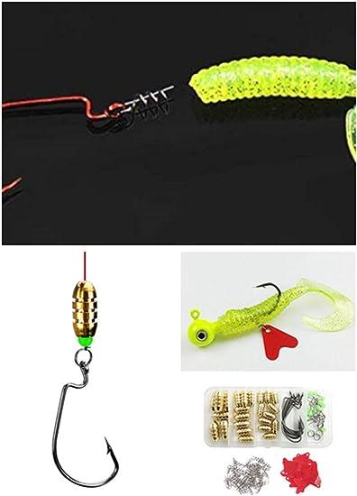 10 Stücke Karpfenangeln Rig Rigging Boilie Nadel Grobfischen Baiting Rig