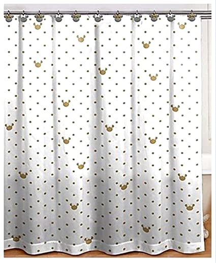 Image Unavailable Not Available For Color Franco Minnie Mouse Shower Curtain