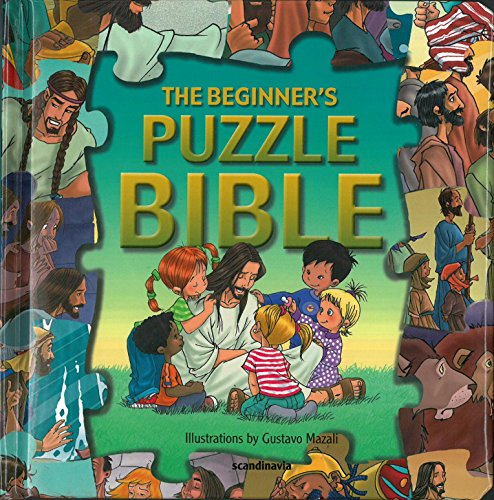 Beginners Puzzle Bible-Bible Story Book for Children-Bible Games for Children-Noah-Ark-Jacobs Ladder-Heaven-Jericho-King