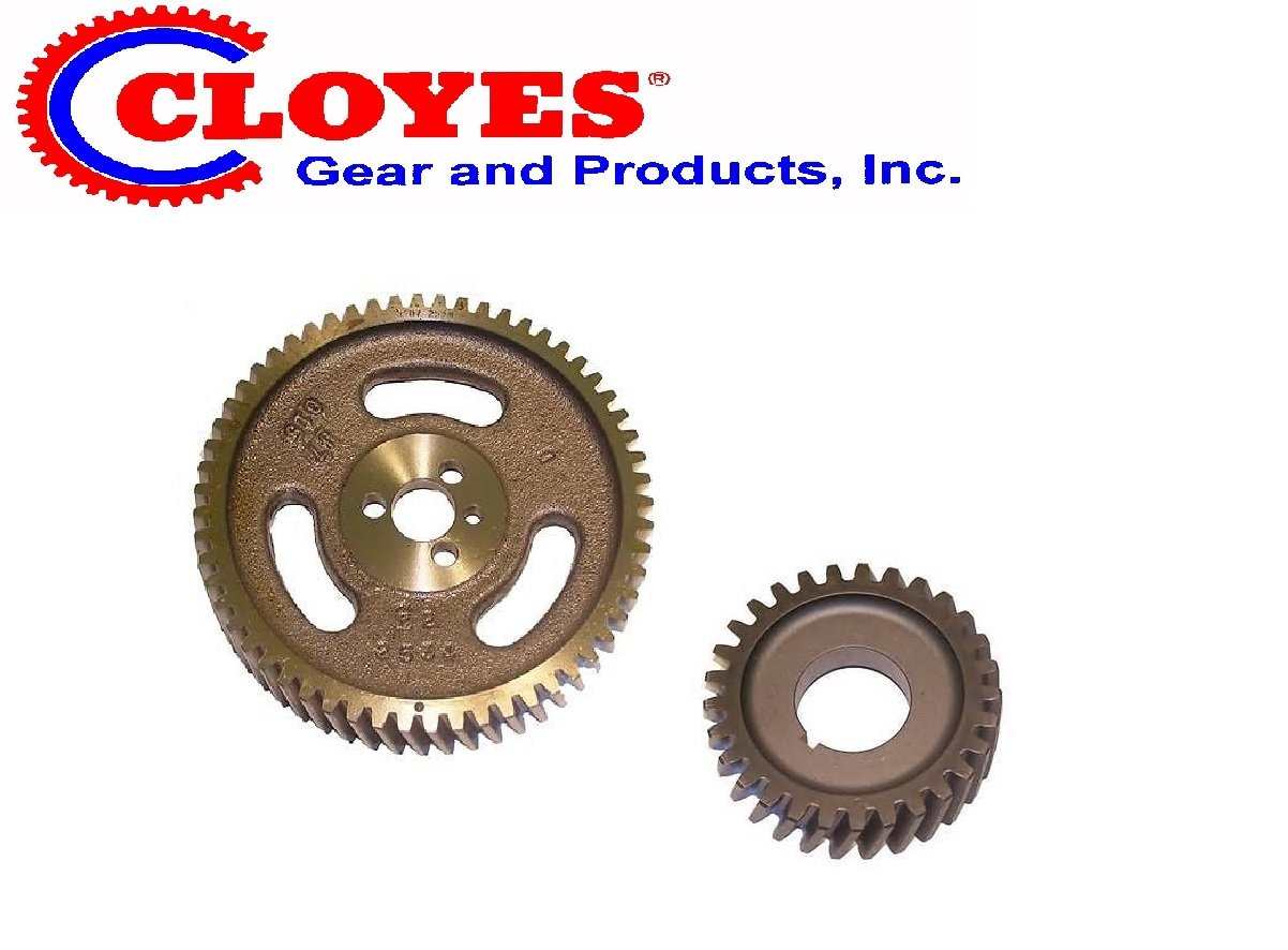 2534 Rev. Rotation Chevy Marine 350 5.7 5.7LTiming Gears for Reverse rotation engine 2535