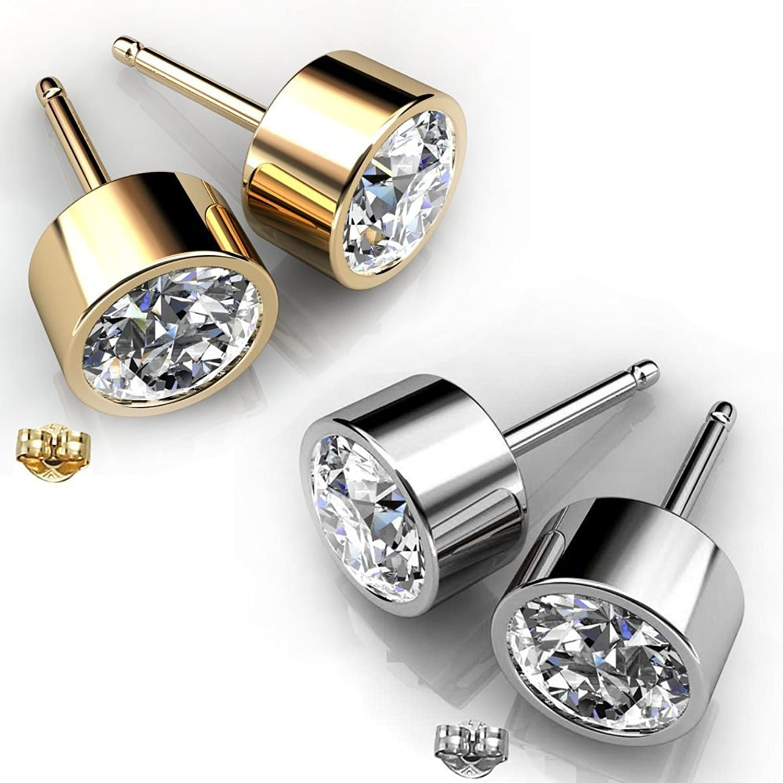 Swarovski Crystals Stud Earrin...