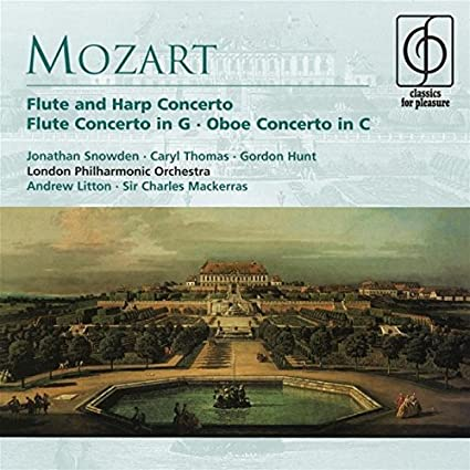 Mozart: Flute and Harp Concerto / Flute Concerto in G / Oboe Concerto in C