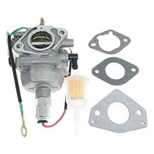 Mastergood 32 853 12-S Carburetor Carb Kit with Gasket for Kohler 23 24 25 26 27 HP Motor Toro Lawn Tractor Replace OE#32 853 08-S 32 853 04-S 32 853 12-S