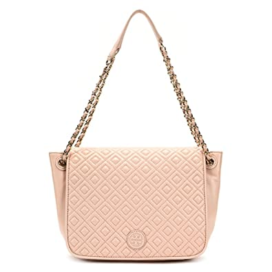 Tory Burch Marion Quilted Small Flap Shoulder Bag 12169712 Pale