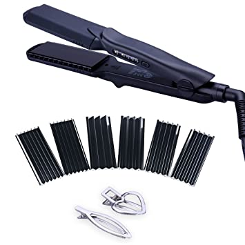 Amazon 4 In 1 Hair Straightener Iron Set With Interchangeable