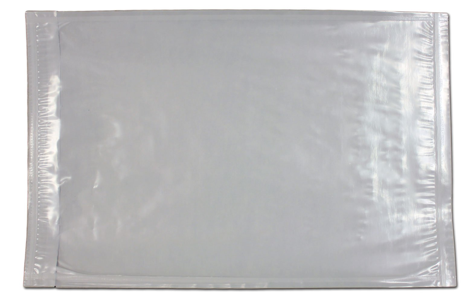 6'' x 9'' Clear Plastic Adhesive Packing List Mailing / Shipping Envelope Pouch - 100 Pieces