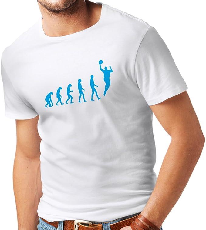 Camisetas Hombre evolución de Baloncesto - Canasta de la Calle, me ...