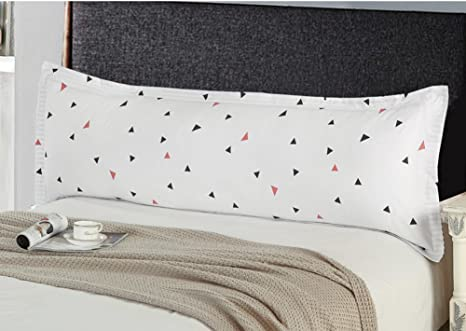 Two-Person Pillow Lovers Pillow Bolster Double Pillow 1.5the Pillow with Rice and Grow up 1.8rice Pillow Long-A 48x180cm 19x71inch