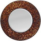 LuLu Decor, Amber Comb Mosaic Wall Mirror (LP73M)