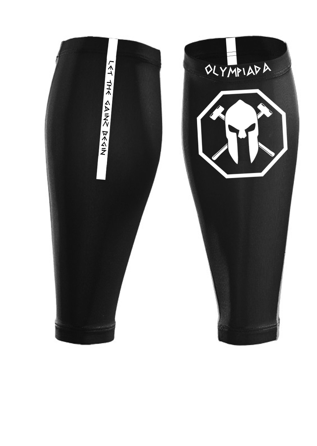 Calf Compression Sleeves (1 Pair)Guards Against Shin Splints: Running, Sprinting, Jogging, Walking, Basketball, Cycling and Fitness