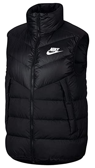ac7ae2232fe4 Nike M NSW DWN Fill WR Vest Weste Herren schwarz (Black Black Black ...