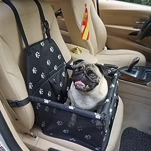 Felicidad Asiento del Coche de Seguridad para Mascotas Perro Gato ...